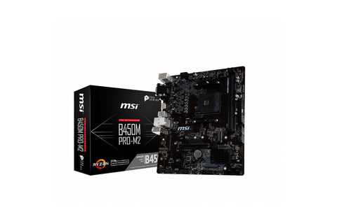 MSI B450M PRO-M2 Gaming Motherboard-computerspace