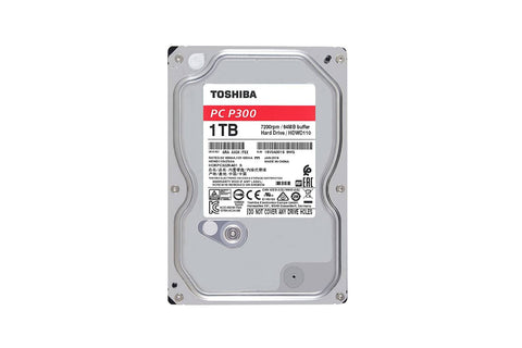 Toshiba 1TB Desktop 7200 Rpm Internal Hard Drive-computerspace
