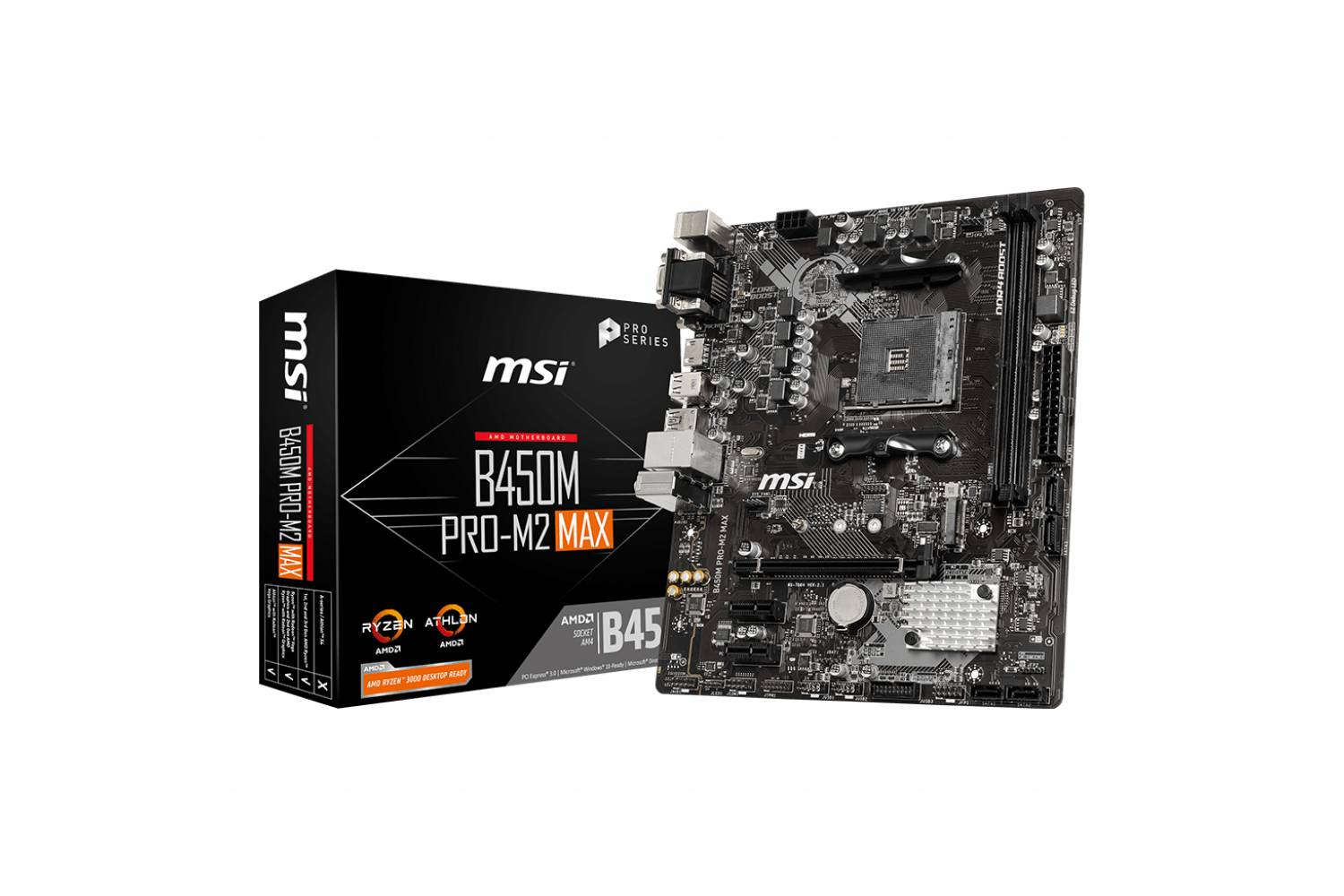 MSI B450m Pro M2 Max Motherboard-computerspace