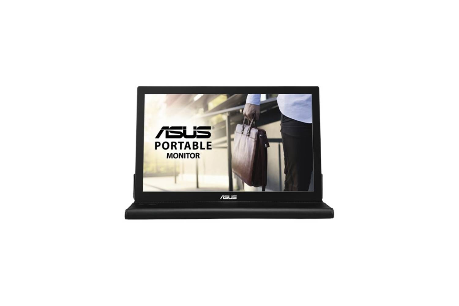ASUS MB168B (15.6) Inch USB-powered, Ultra-slim, Auto-rotatable Portable monitor