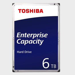 Toshiba 6TB 3.5inch SAS 12GBPS Enterprise HDD (MG04SCA60EE)
