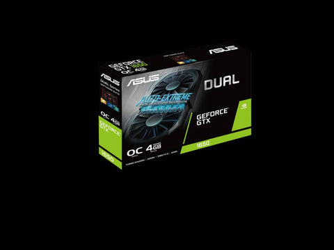 ASUS Dual GeForce GTX 1650 OC edition 4GB GDDR5 Graphics Card-computerspace