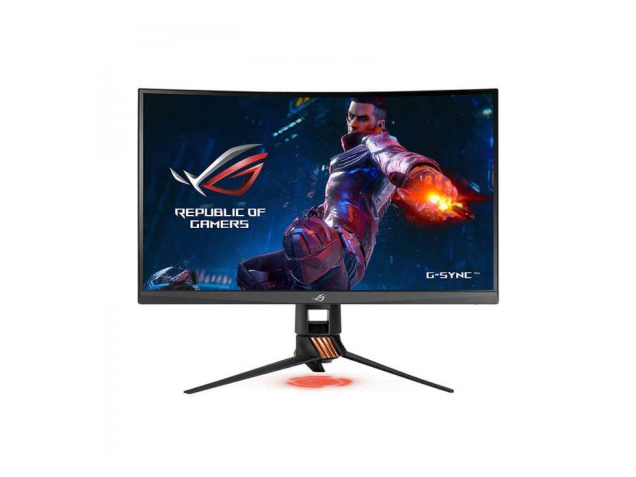 "Asus ROG Swift PG27UQ 27"" Gaming Monitor 4K UHD (3840x2160) 144Hz DP HDMI G-SYNC HDR Aura Sync with Eye Care-computerspace"