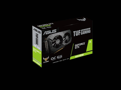 ASUS TUF Gaming GeForce GTX 1660 SUPER OC Edition 6GB GDDR6 Graphics Card-computerspace