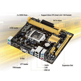 ASUS H81M-CS MOTHERBOARD-ASUS-computerspace