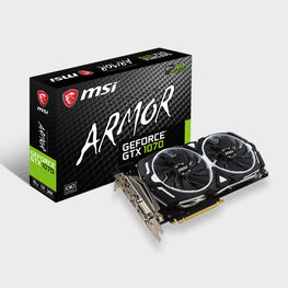 MSI GeForce GTX 1070 ARMOR 8G OC Graphics Card-MSI-computerspace