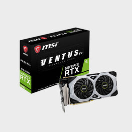MSI GeForce RTX 2080 VENTUS 8G V2 GDRR6 Graphics Card-MSI-computerspace
