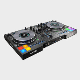 Hercules Djcontrol Jogvision 2-Channel USB DJ Controller with Animated In-Jog LED Displays & Motion-Sensor Effects for Serato DJ Lite-herculas-computerspace