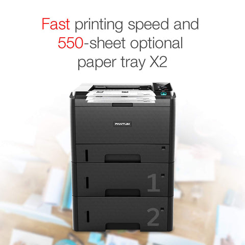 PANTUM P3500DW HIGH PRINT SPEED MONOCHROME LASER PRINTER-Pantum-computerspace