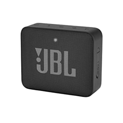 JBL Go2 Plus Portable Bluetooth Speaker with Mic (Black)