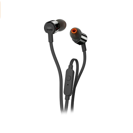 JBL T290 Pure Bass All Metal in-Ear Headphones with Mic