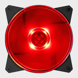 Cooler Master MF120L Red LED CPU Fan-Cooler Master-computerspace