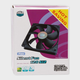 Cooler Master 120x120x25mm sleeve fan (4 in 1) CPU Fan-Cooler Master-computerspace
