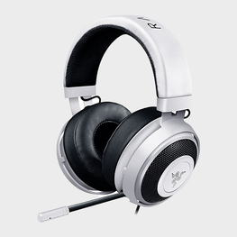 Razer Kraken Pro V2 Analog Gaming Headset (White)-RAZER-computerspace