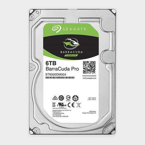 Seagate BarraCuda Pro 6TB 6GB/s 256MB Cache 3.5-Inch Internal HDD-SEAGATE-computerspace