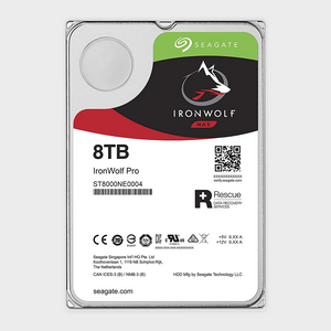 Seagate 8TB IronWolf Pro 7200RPM SATA 6Gb/s 256MB Cache 3.5-Inch NAS HDD-SEAGATE-computerspace