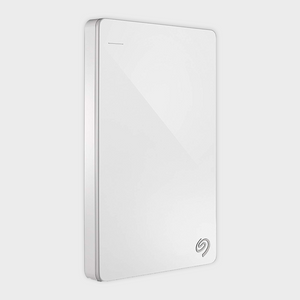 Seagate 1TB Backup Plus Slim (White) USB 3.0 External HDD-SEAGATE-computerspace