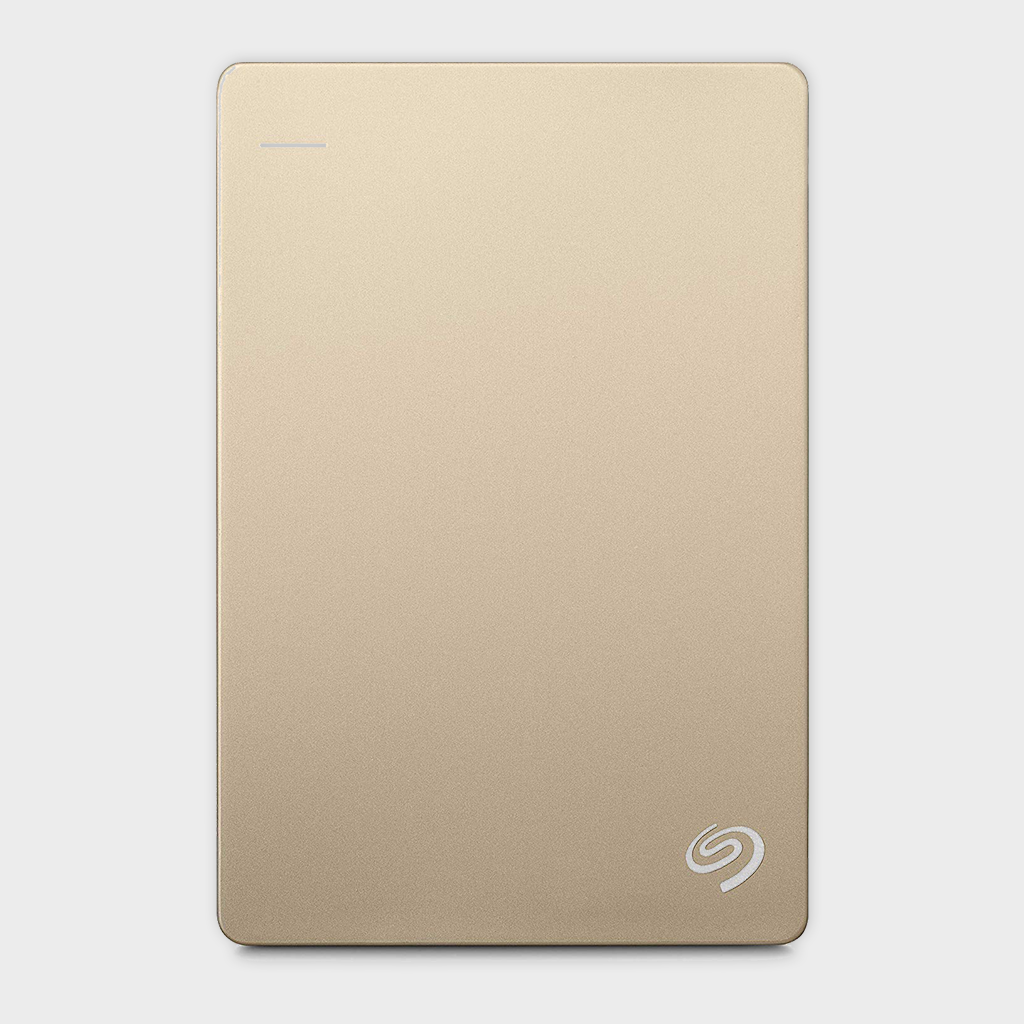 Seagate 1TB Backup Plus Slim (Gold) USB 3.0 External HDD-SEAGATE-computerspace