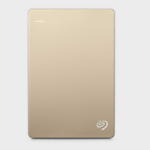 Seagate 2TB Backup Plus Slim (Gold) USB 3.0 External HDD-SEAGATE-computerspace