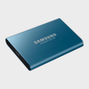 SAMSUNG - T5 250GB PORTABLE SSD (BLUE)-SAMSUNG-computerspace