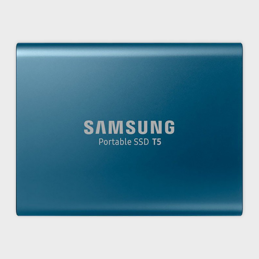 SAMSUNG - T5 500GB PORTABLE SSD (BLUE)-SAMSUNG-computerspace
