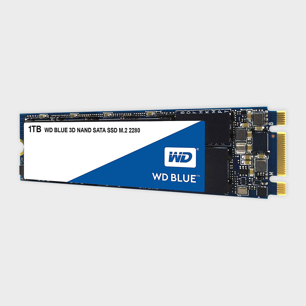 WD Blue 3D NAND 1TB PC M.2 SSD (WDS100T2B0B)-WESTERN DIGITAL-computerspace