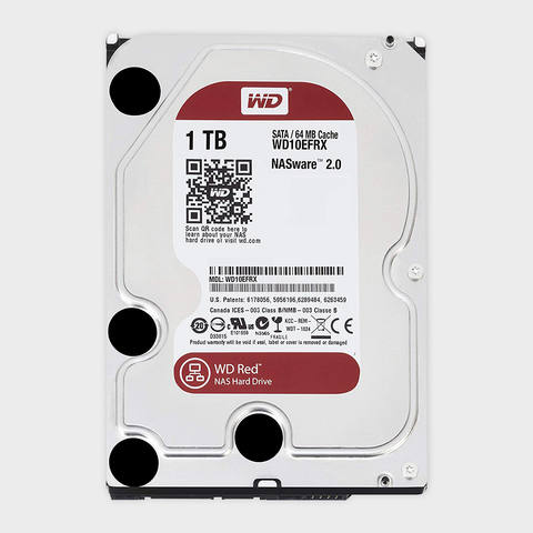 WD Red 1TB Internal NAS Hard Drive (WD10EFRX)-WESTERN DIGITAL-computerspace