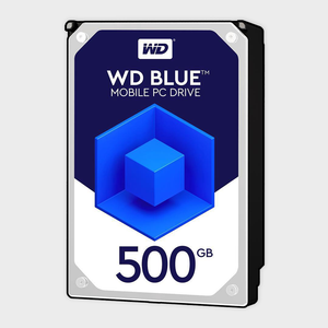 WD Blue 500GB Mobile Hard Disk Drive (WD5000LPCX)-WESTERN DIGITAL-computerspace