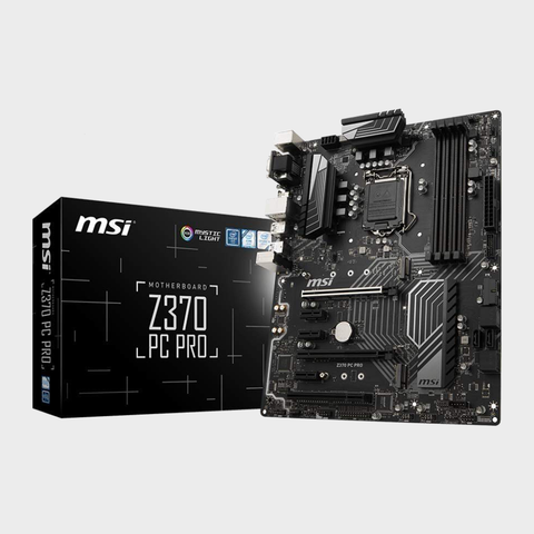 MSI Z370 PC PRO LGA 1151 Motherboard-MSI-computerspace