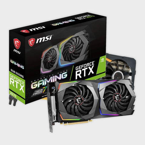 MSI GeForce RTX 2070 Gaming Z 8G GDRR6 Graphics Card-MSI-computerspace