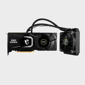 MSI Gaming GeForce RTX 2080 ti SEA Hawk X 11GB GDRR6 Graphics Card-MSI-computerspace