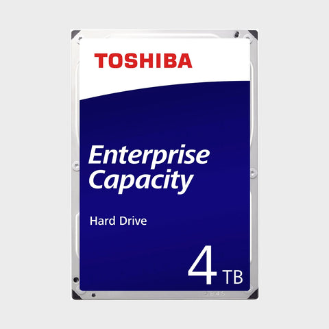 "Toshiba 3.5"" 4TB SATA 6Gb/s 7.2K RPM 64M 512e Enterprise Hard Drive"