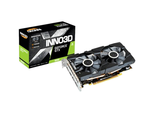 Inno3d GeForce GTX 1660 Twin X2 6GB GDDR5 Graphics Card-computerspace