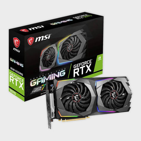 MSI GeForce RTX 2070 Gaming 8G GDRR6 Graphics Card-MSI-computerspace