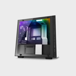 NZXT H200I Mini-ITX Case White-computerspace