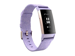 FITBIT CHARGE-3 FITNESS BAND SE LAVENDER WOVEN