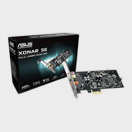 ASUS Xonar SE 5.1-Channel PCIe Gaming Sound Card-ASUS-computerspace