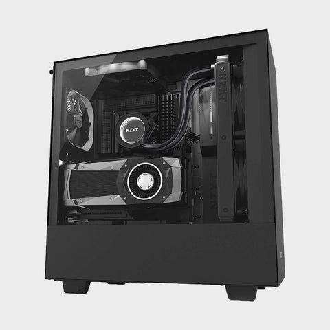 NZXT H500i ATX Computer Case (Black)-NZXT-computerspace