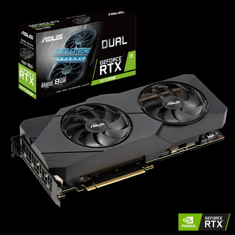 ASUS Dual GeForce® RTX 2070 SUPER™ EVO Advanced edition 8GB GDDR6-computerspace