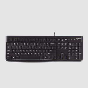 Logitech K120 Hindi/Bangla Wired Keyboard-Logitech-computerspace