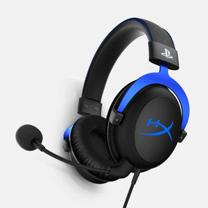 HyperX Cloud HX-HSCLS-BL/EM Gaming Headset for Playstation 4 (Black and Blue)-HYPERX-computerspace