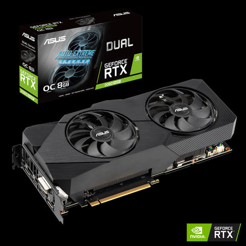 ASUS Dual GeForce® RTX 2060 SUPER™ EVO OC edition 8GB GDDR6-ASUS-computerspace
