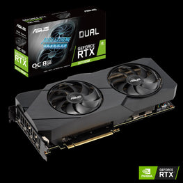 ASUS Dual GeForce® RTX 2070 SUPER™ EVO OC edition 8GB GDDR6-ASUS-computerspace