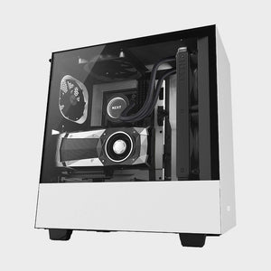 NZXT H500i ATX Computer Case (White)-NZXT-computerspace