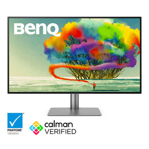 Benq 32 inch 4K Thunderbolt 3 Monitor with Display P3 | PD3220U