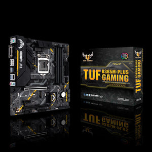 ASUS TUF B365M-PLUS GAMING Intel LGA 1151 mATX gaming motherboard-computerspace