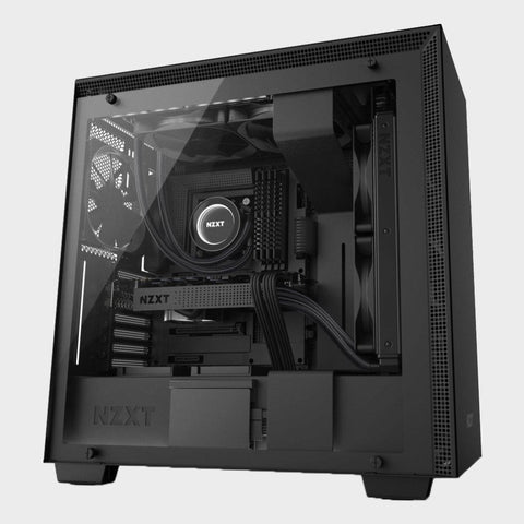 NZXT H700 (E-ATX) MID TOWER CABINET (Black)-NZXT-computerspace