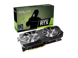 Galax RTX 2060 Super Ex 1 click OC with RGB Black Graphics Card-computerspace