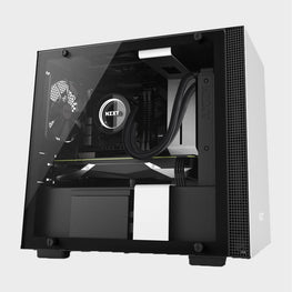 NZXT H200 Mini-ITX Case White-computerspace