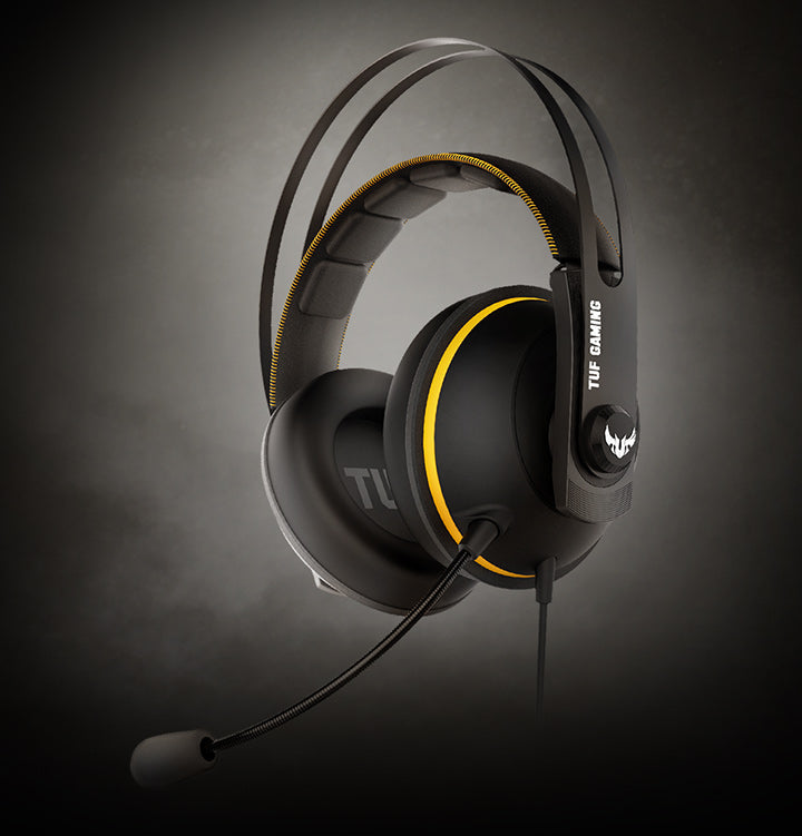 Asus TUF Gaming H7 Core PC and PS4 gaming headset comes in four colors and upgraded ear cushions for eyewear comfort